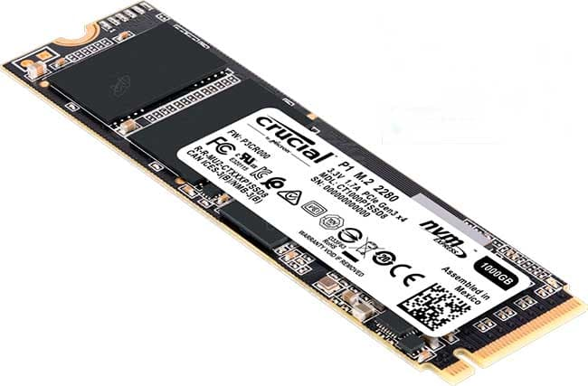 SSD NVMe Crucial