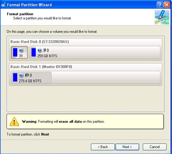 Tutorial Paragon Partition Manager